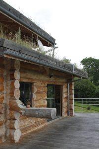 maison bois massif classique conçu par Jérome Largeau