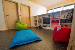 aménagement intérieur d'une maison bois écologique