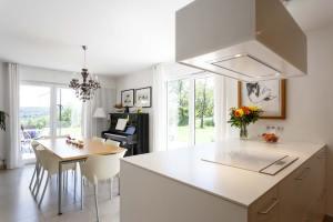 cuisine ouverte avec salon