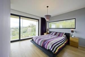 aménagement intérieur d'une maison ossature bois Moselle
