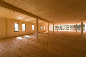 grande immeuble en bois