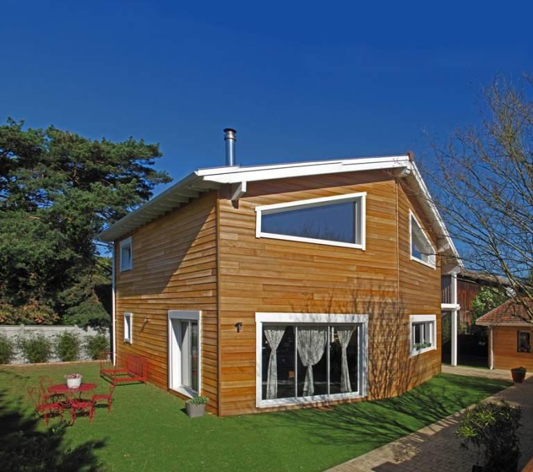 maison bois individuelle avec jardin en Eure-et-Loir