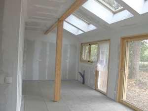 construction d'une maison bois familial