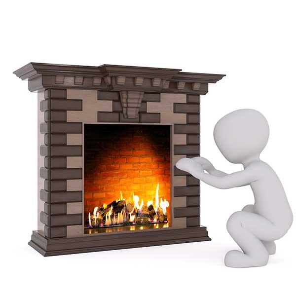 Se chauffer avec une cheminée bois © Pixabay