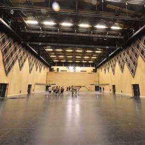 Théâtre en bois à Montpellier © Jean-Yves Guilbert /Drone Studio