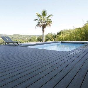 terrasse bois jolie et résistante en pin nordique