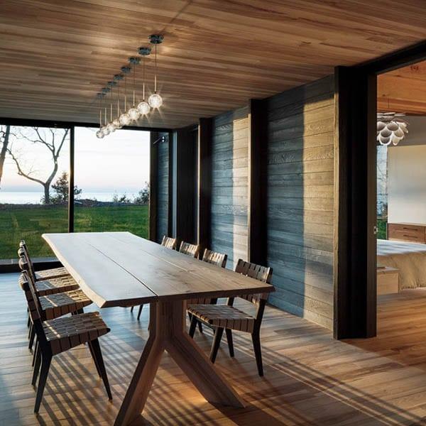 Maison en bois papillon lac Michigan - Agence Desai Chia Architects