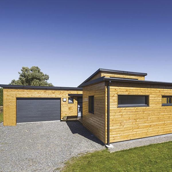 maison bois à Landeda