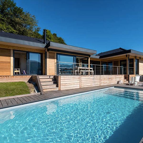 Maison bois au style californien - Vision Bois