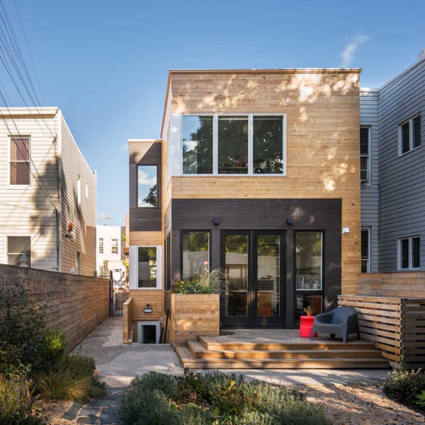 Maison de ville en ossature bois - BFDO Architects