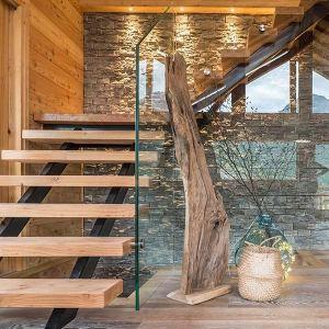 chalet en bois familial au milieu de la vallée Serre Chevalier en Savoie