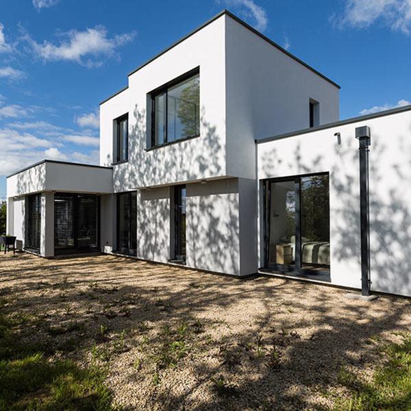 maison d'architecte en bois bioclimatique