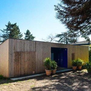 maison individuelle en bois à Mont-de-Marsan