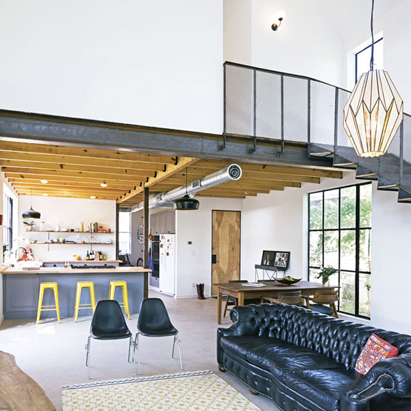 Maison bois texane - Pavonetti Architecture