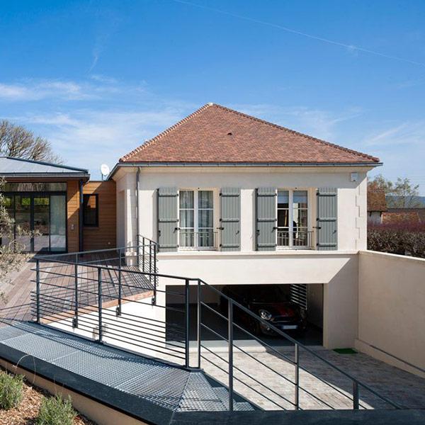 maison bois à Paris