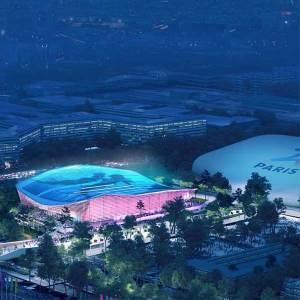 Centre aquatique olympique en boiss 2/3/4/ Image: Proloog
