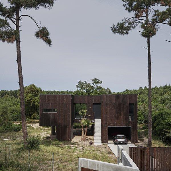 Maison bois caméléon - Maud Caubet