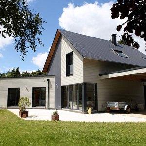 Maison bois écologique - Maison Maugy
