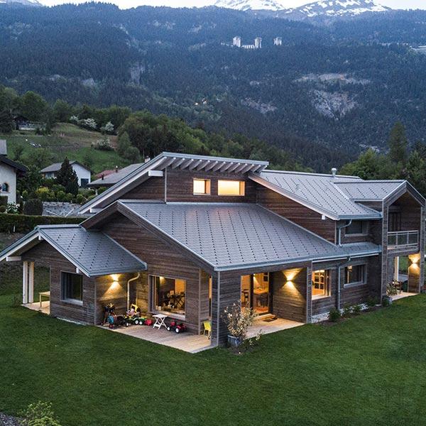 Maison innovation en bois massif - Kontio
