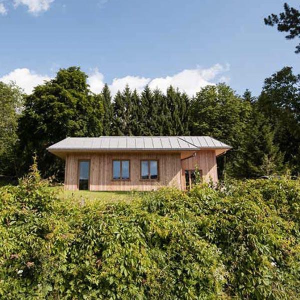 maison et extension en ossature bois
