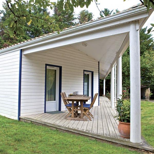 Maison bois avec terrasse dans Loire-Atlantique