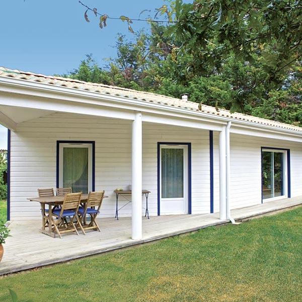maison atypique à ossature bois dans Pays de la Loire