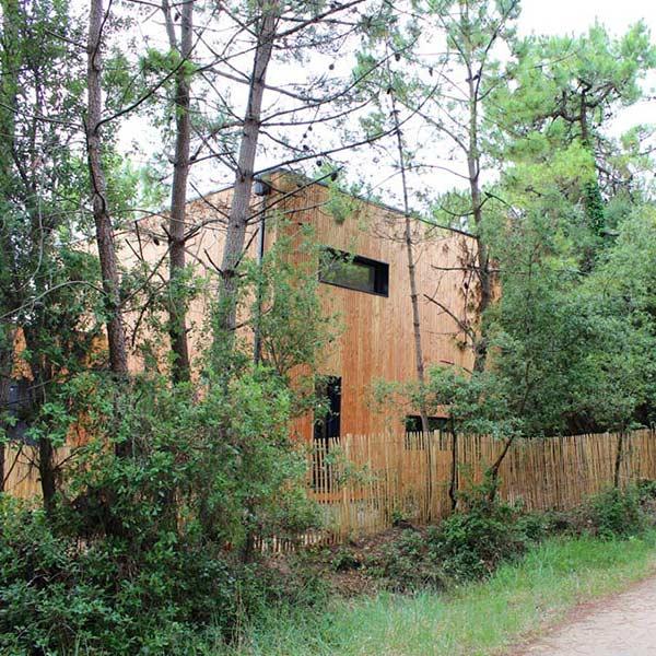 maison de famille en ossature bois dans Pays de la Loire