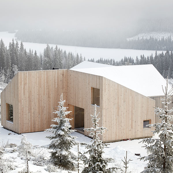 Maison bois Mylla Hytte - Mork-Ulnes Architects