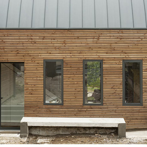 Maison singulière en ossature bois - Greenstep