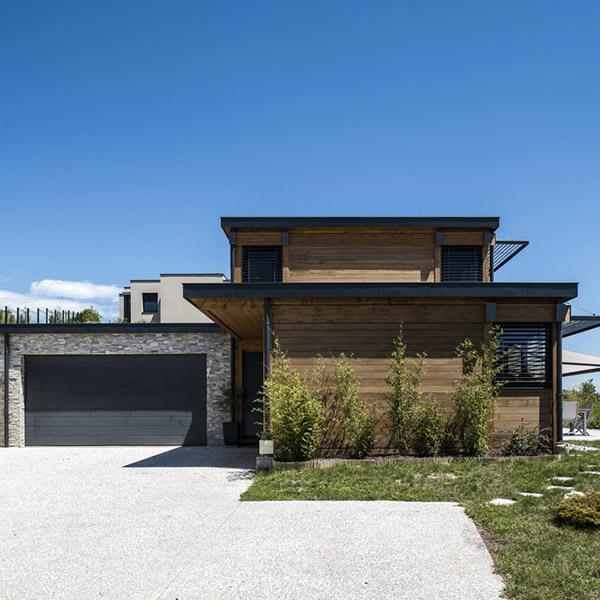Maison en poteaux-poutres en Épicéa - Vision Bois/Tout Habitat