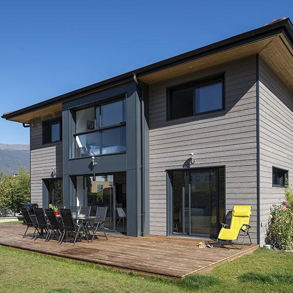 maison bois en Haute-Savoie