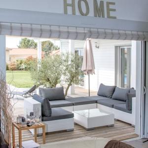 terrasse avec lounge