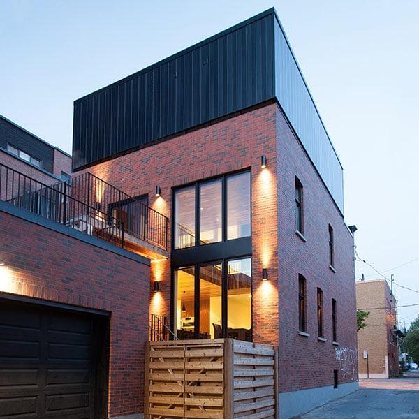 cube en ossature bois - Appareil Architecture