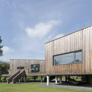 résidence secondaire en bois au Royaume-Uni