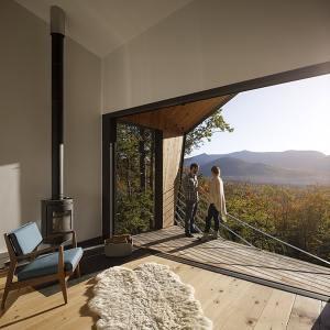 Maison de vacances en ossature bois avec vue magnifique