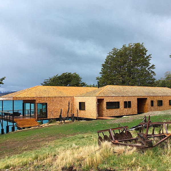 Double maison en ossature bois