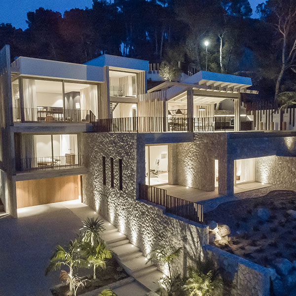 villa méditerranéenne en bois Accoya à Majorque