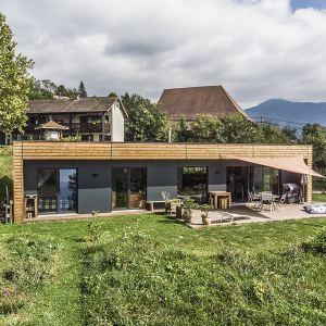 Maison ossature bois en Épicéa en Isère