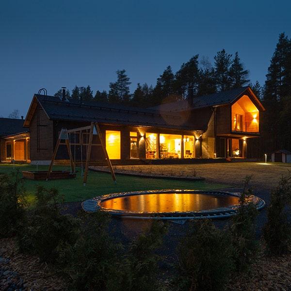 maison en bois massif en Finlande - kontio