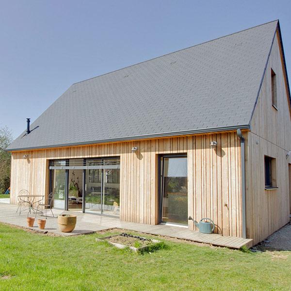 maison ossature bois en Epicea - Nature et Logis