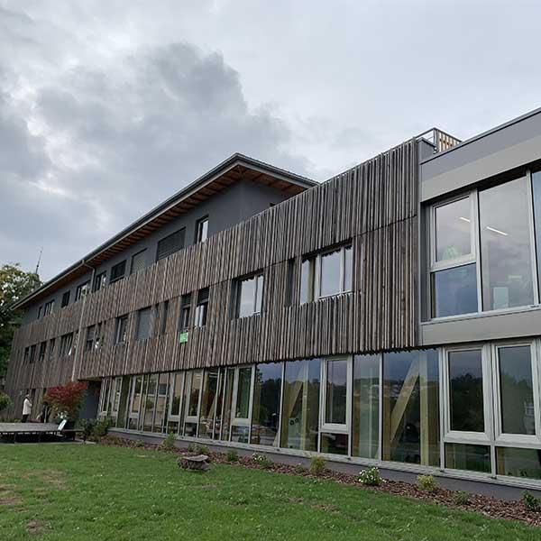 Bâtiment certifié PEFC dans les Vosges © DR