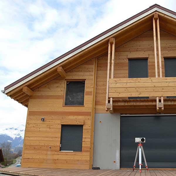 Un exemple d'expérimentation in situ effectué à Passy en Haute-Savoie ©DR
