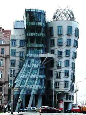Dancing Architecture, Prague, Czech Republic-Most Amazing Buildings