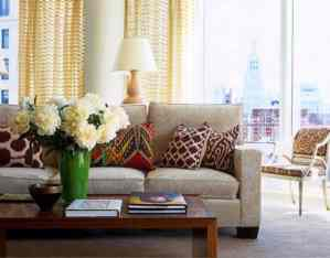 Exotic Ikat Pattern in Interior Design178Ideas