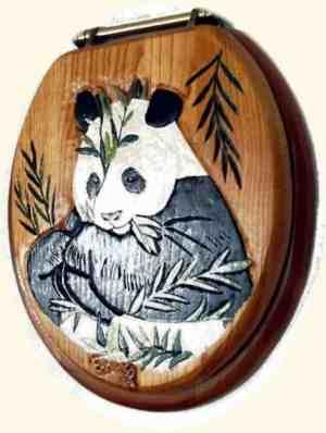 Cute and Adorable Panda Print toilet Seat Covers