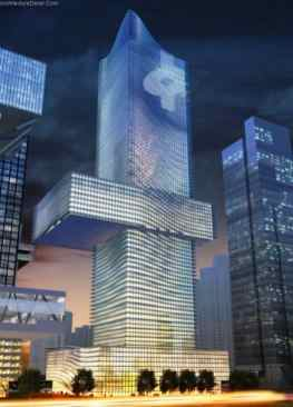 Headquarter China Insurance_a319-Sustainable Office Buildings
