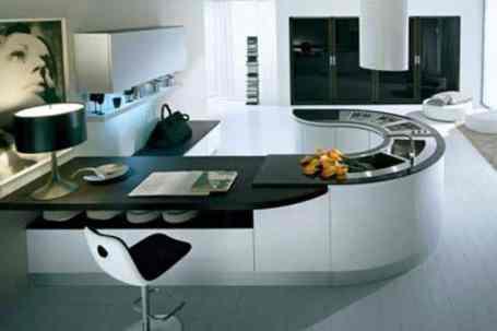 Hi-tech Kitchen_a34Designs