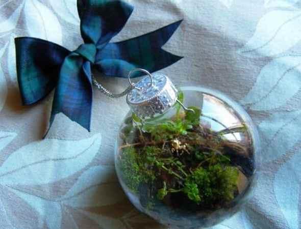 Terrarium Christmas Ornament