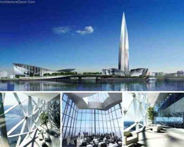 The Okhta Tower-Sustainable Office Buildings