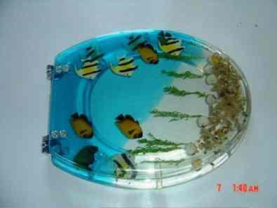 stunning Aquarium Theme Toilet Seat Covers for Cheerful Bathroom Look